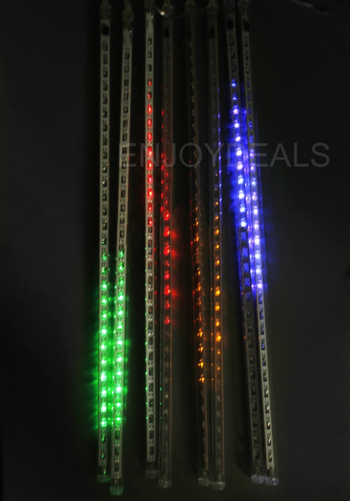 waterproof snowfall meteor led light christmas wedding outdoor rgb