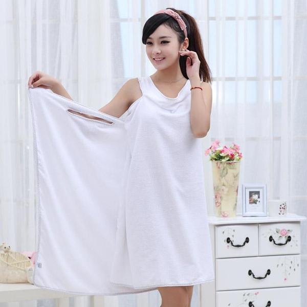 Adualt Microfiber Soft Magic Towel Skirt Bath Towel Bathrobes Beach Towel