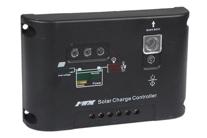 PWM Solar Street Light Panel Charge Controller Regulator Auto Switch 10A