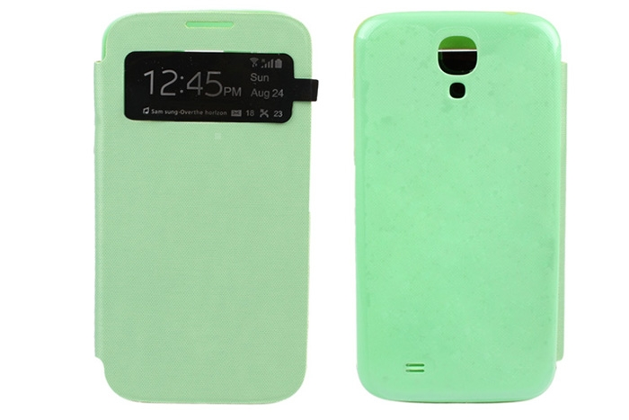 Smart Phone Case Cover with Auto Sleep Function for Samsung Galaxy S4 I9500