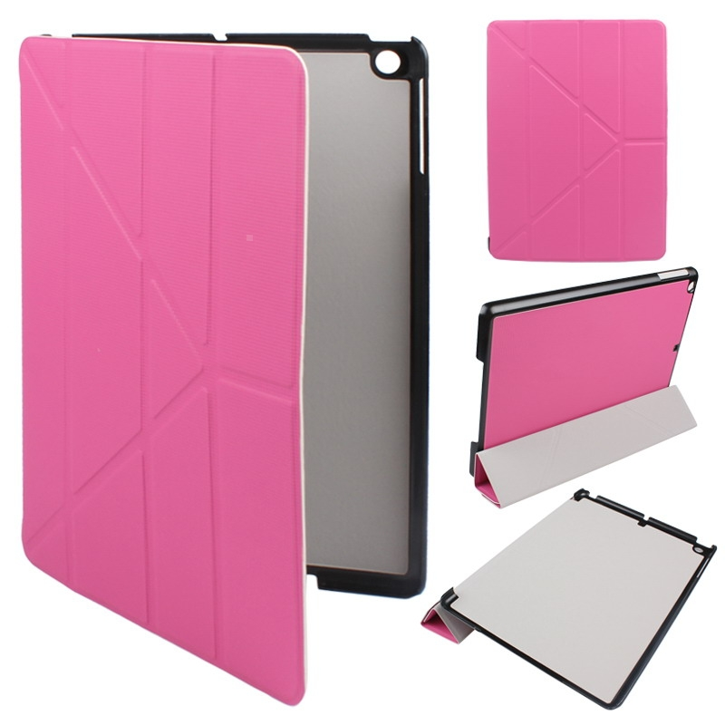 Slim Magnetic PU Leather Protective Stand Case Cover for iPad 5 iPad Air