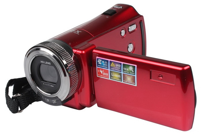 HD-56E 1280*720 TFT LCD Digital Zoom High Definition Video Camera Recorder