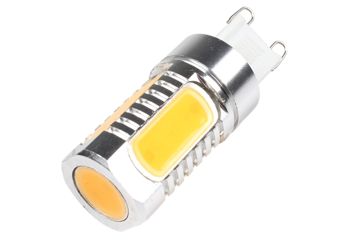 7.5W Super Bright Energy Saving G9 COB LED Car Bulb Light Lamp DC 12V