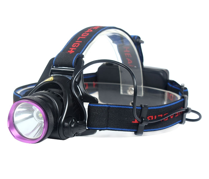 2000LM CREE XM-L T6 LED 3 Modes Headlamp Head Lamp Torch 2x18650+EU Charger