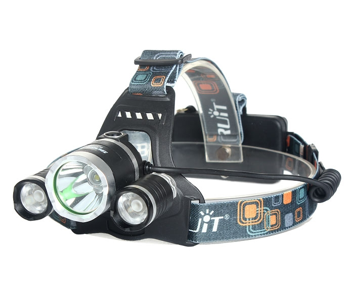 5000lm CREE XML 3xT6 LED Headlight Headlamp HeadLight Lamp Torch+EU Charger