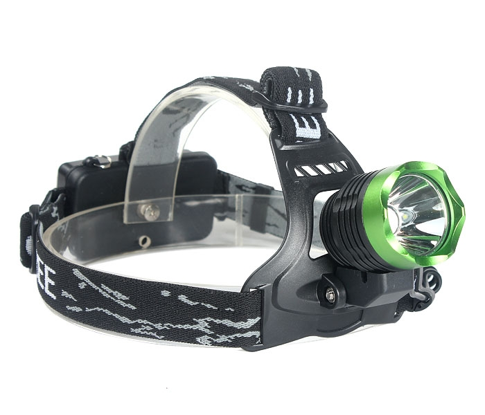 2000LM CREE XM-L T6 LED Rechargeable Headlamp Headlight 2x18650 + EU Charge