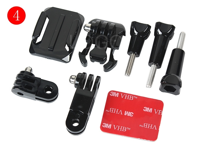 7 In 1 Sports Photography Set Kit Tools 7 Different Accessories for GOPRO