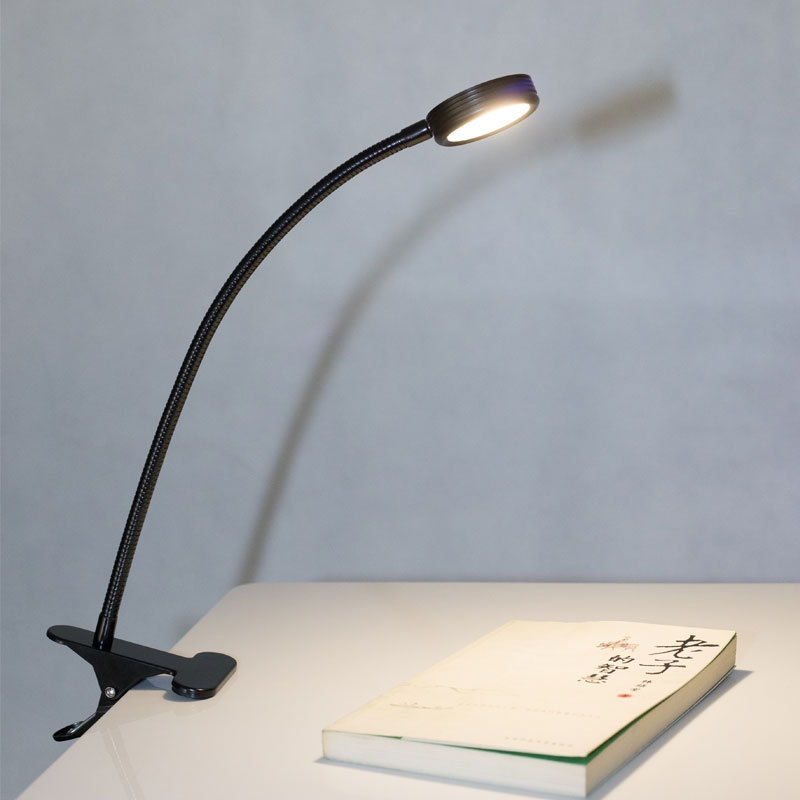 Cool Usb Flexible 5w Led Light Desktop Reading Study Clip