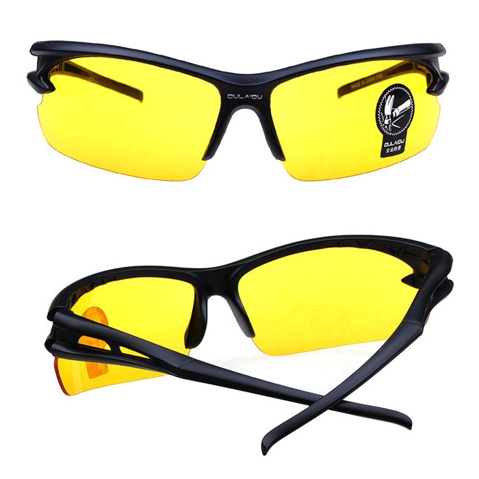 Bicycle Polarized Cycling Sports Sunglasses Anti-explosion Night Version