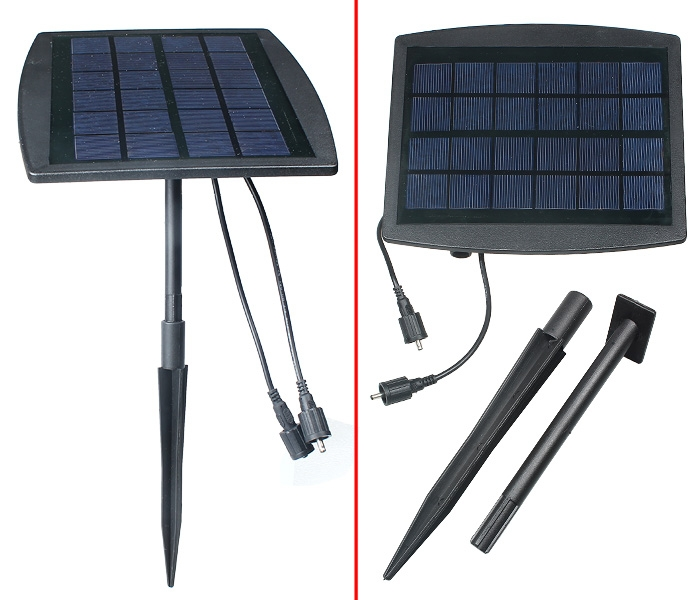 Super Bright 2W Outdoor Indoor Solar Powered LED Lighting