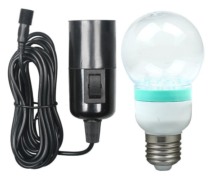 Outdoor Solar Powered Led Lighting Bulb System 1 X Solar