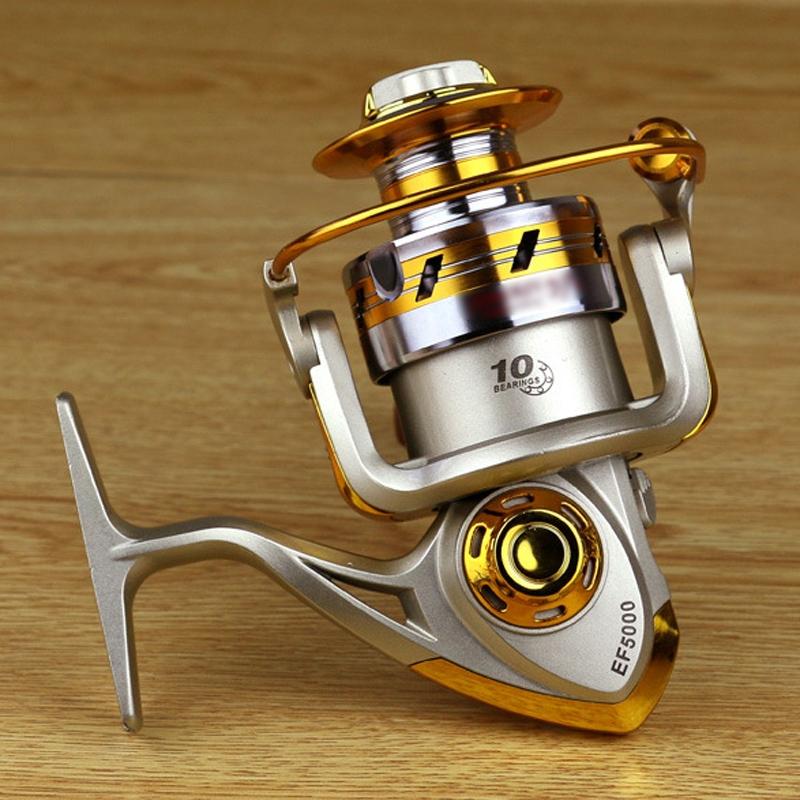 10BB Ball Bearing Saltwater/ Freshwater Fishing Spinning Reel 5.5:1