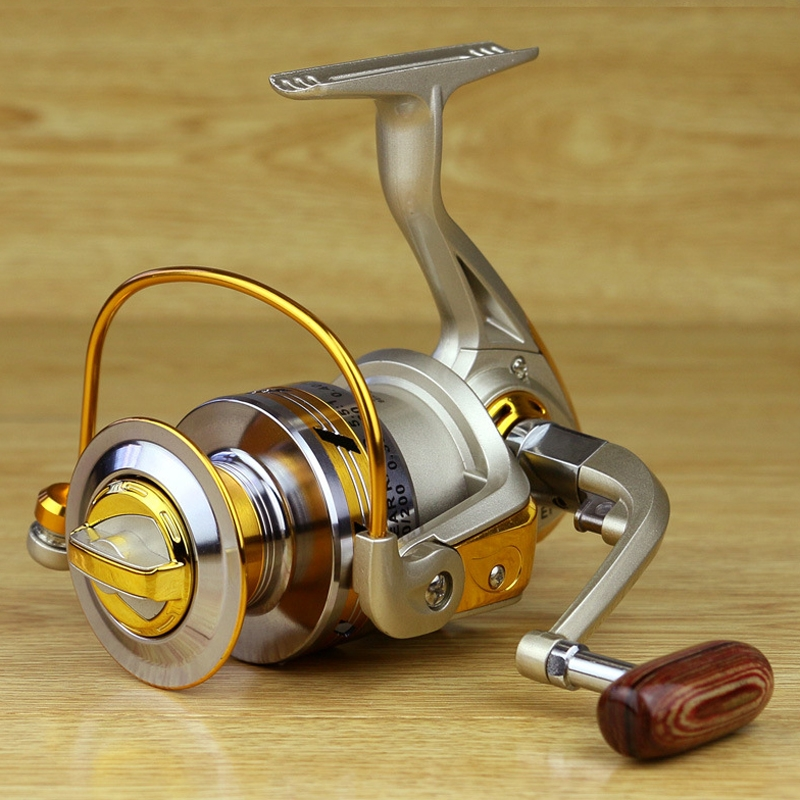10BB Ball Bearing Saltwater/ Freshwater Fishing Spinning Reel 5.5:1  Fine