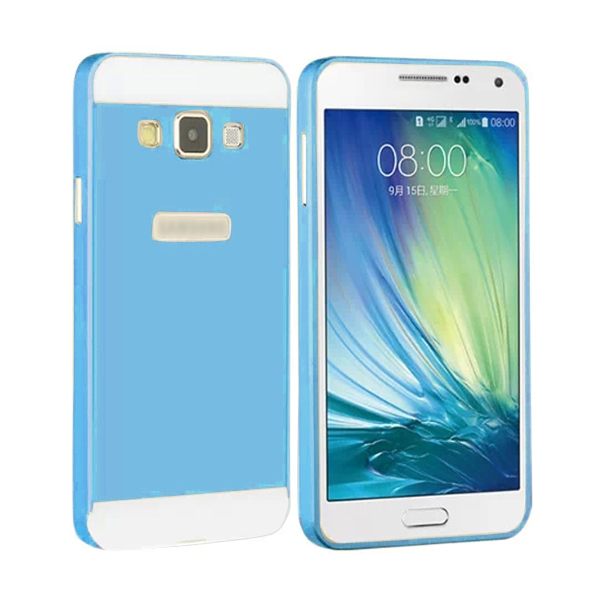 Sky Blue Metal Hard Skin Protector Cover Case Shell For Samsung Galaxy A3