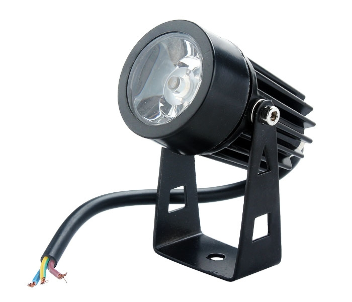 3W Waterproof LED Flood Spot Light Lamp 12V/85-265V White/Warm white/RGB