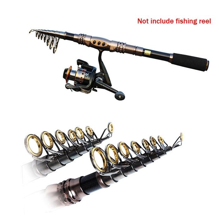 Mini Carbon Fiber Professional Sea Beach Long Telescopic Fishing Rod