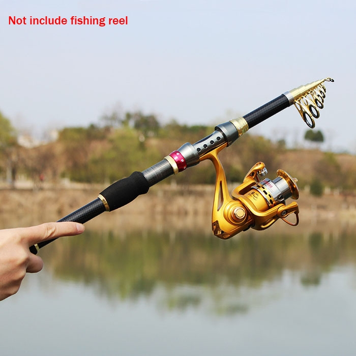 New super hard ultra light carbon fiber telescopic fishing for Fishing rod ultra sun