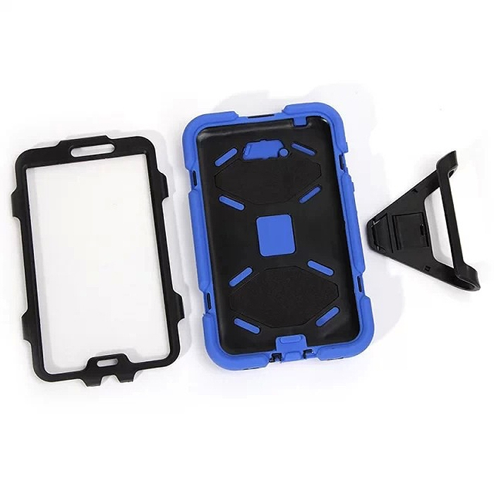 Wholesale 13 Colors Heavy Duty Hybrid Kickstand Case Cover For 7? Samsung Tab 3 P3200