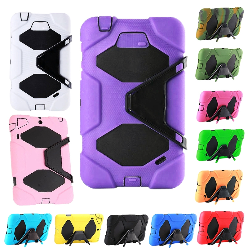 Heavy Duty Strong Tough Case Cover Stand For 7? Samsung Tab 4 T230