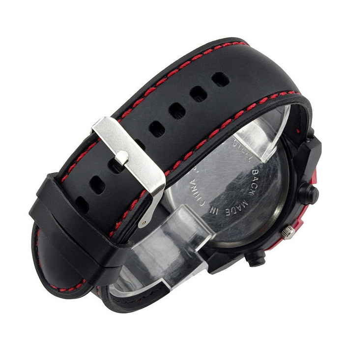 Fashion Casual Unisex Silicone Strap Sport Quartz Wrist Watch