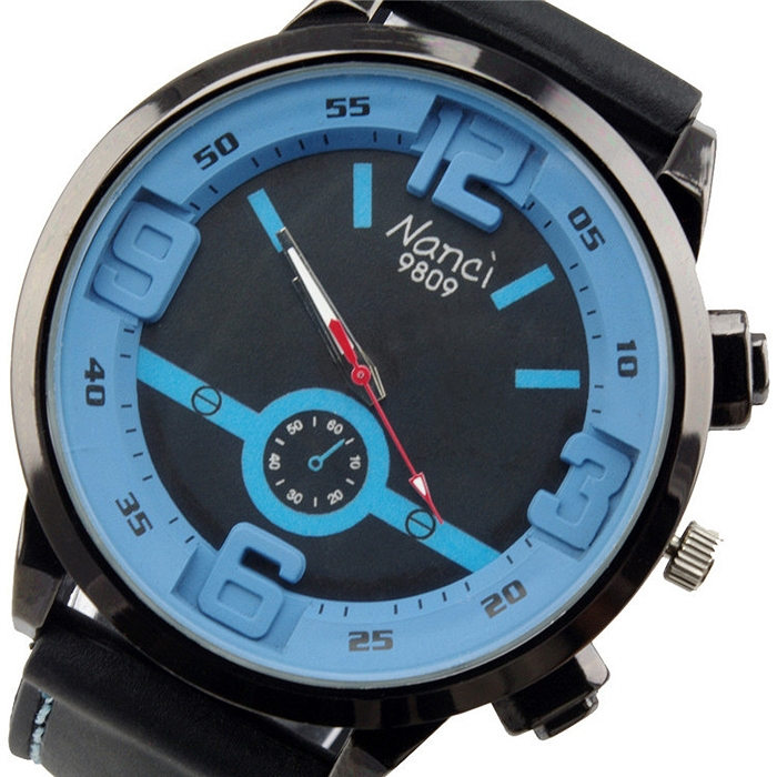 Fashion Unisex Sport Quartz Wrist Watch Silicone Strap Watch