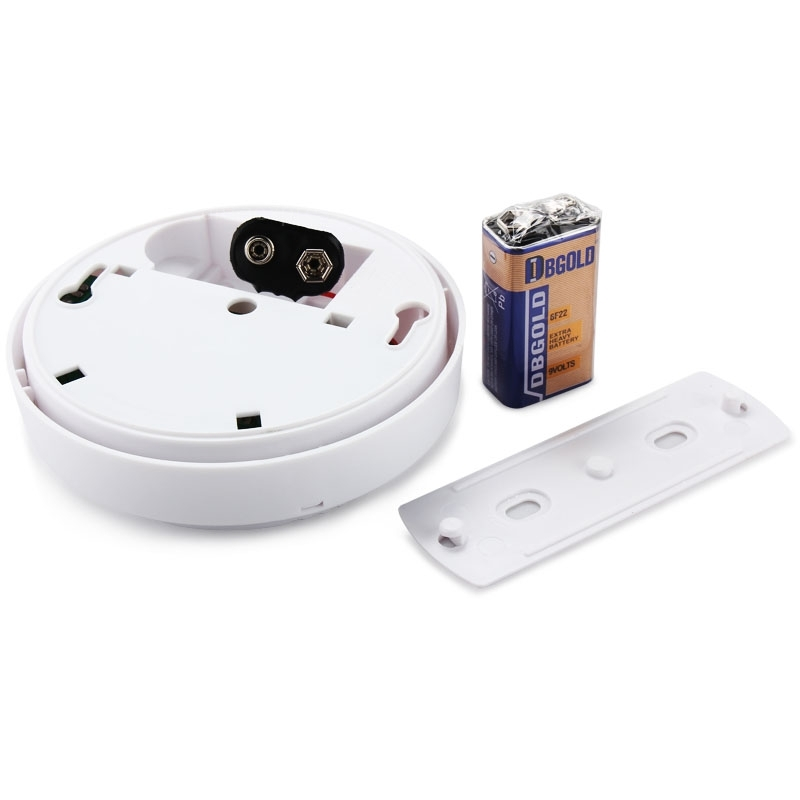 photoelectric wireless smoke alarm home security fire sensor detector fine ebay. Black Bedroom Furniture Sets. Home Design Ideas