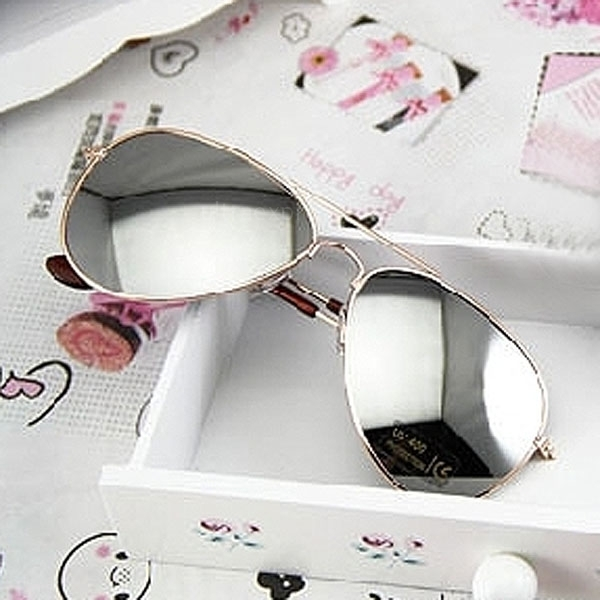 reflective aviator sunglasses  sunglasses