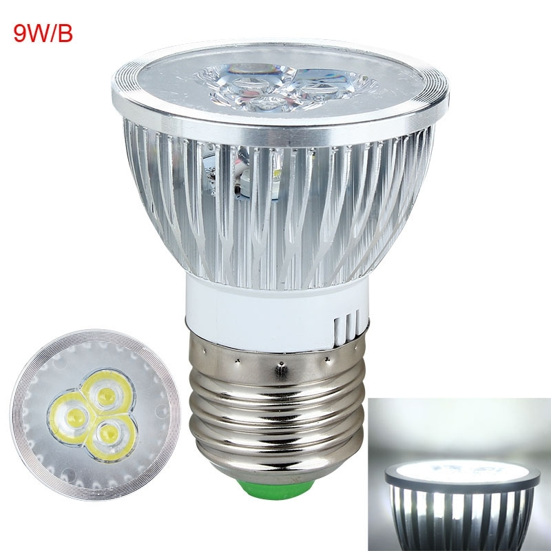 e27 gu10 mr16 dimmable led light lamp spotlight bulb 3w 9w 15w warm cool white ebay. Black Bedroom Furniture Sets. Home Design Ideas