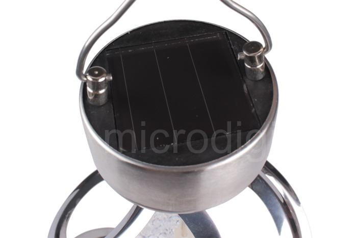 Solar Powered LED COLOUR CHANGING  Hanging Light Bulbs Garden Lights x 2