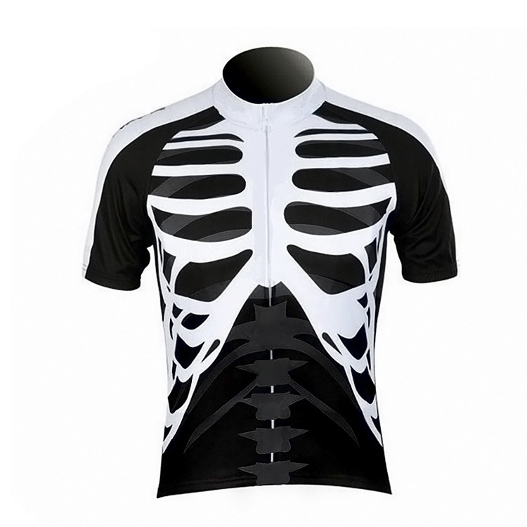 Outdoor Sport Skeleton Cycling Jersey Short Sleeve Clothing Shorts Suits Sales | eBay
