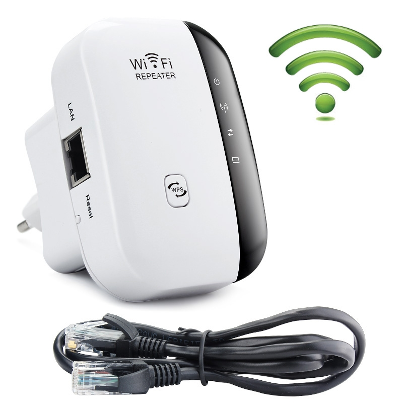 300Mbps 2.4GHz Wireless -N WIFI Router Repeater Signal Expander Booster