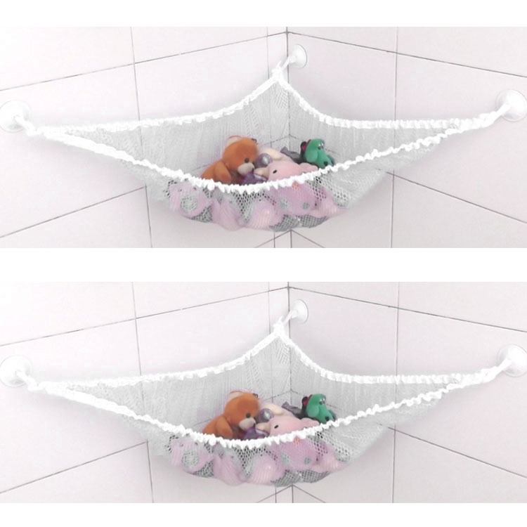 Toy Hammock Animals Net Organizer Stuffed Bath Kids Toy Hanging Bag 140 x80