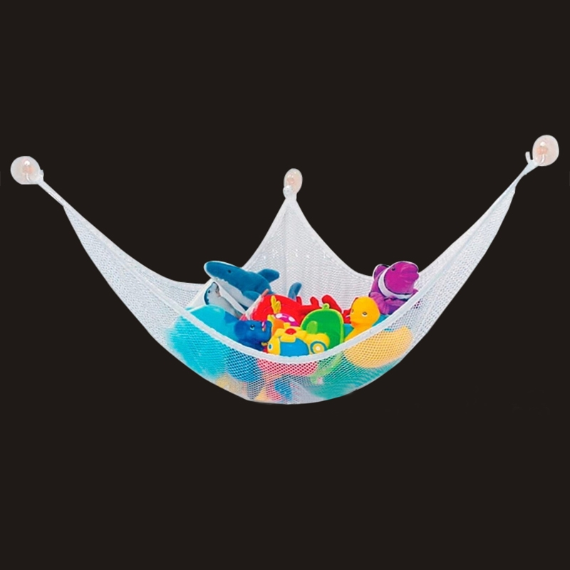 Toy Hammock Animals Net Organizer Stuffed Bath Kid Toy Hanging Bag 150x100