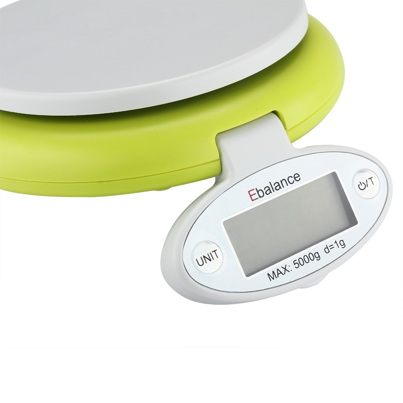 5kg/1g Electronic Digital Household Kitchen Scale Food Bow Balance Weigh