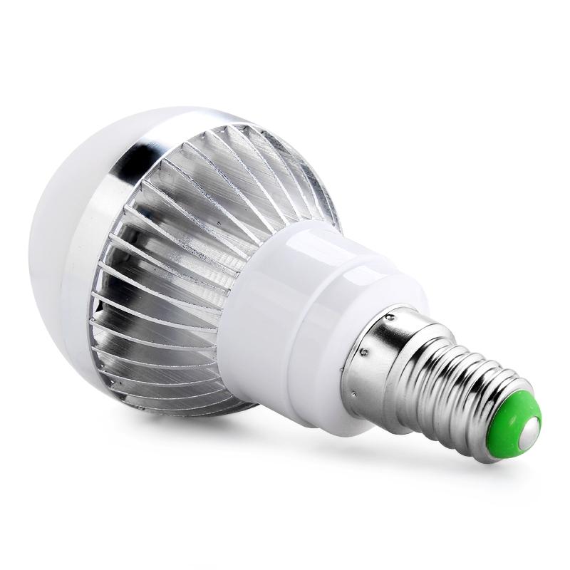 3w e14 rgb led bulb light lamp 16 colors change 24 key remote control brand new ebay. Black Bedroom Furniture Sets. Home Design Ideas