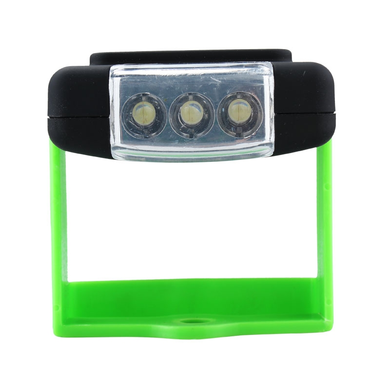 20SMD 3LED Portable Magnet Emergency Work Light�Camping Lamp W/ Hook Green