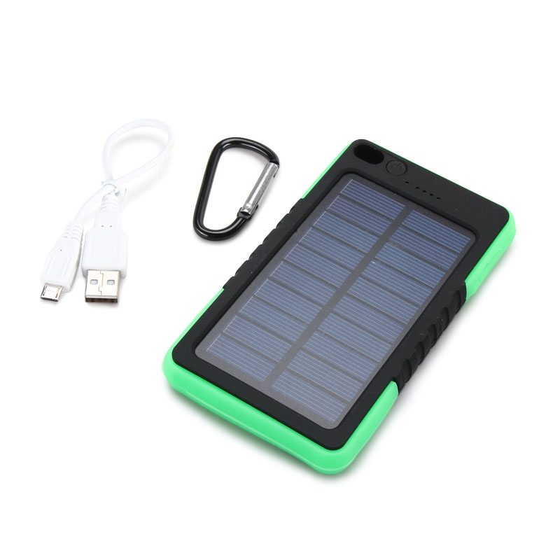 solar charger Solar charger, solar power bank, 13500mah portable solar phone charger external solar panel battery pack phone charger with dual usb and 2 led flashlights for iphone x, samsung s9/note 8 and more.