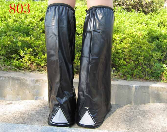 Women Lady Waterproof Non Slip Rain Boots Overshoes High Heels Shoes Cover OK