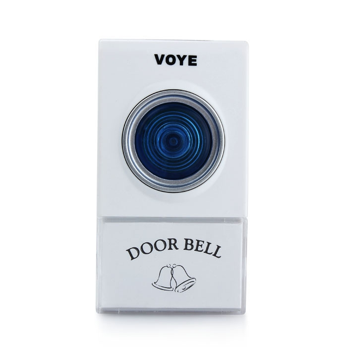 Portable Wireless Remote Digital Door Bell 38 Polyphony Sounds 2 Receivers