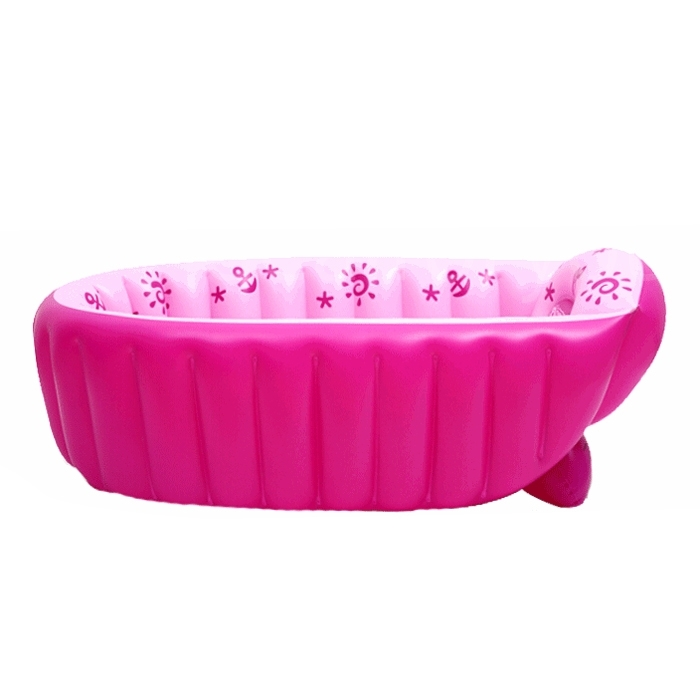 portable baby kid toddler bath tub inflatable bathtub thick newborn summer gift. Black Bedroom Furniture Sets. Home Design Ideas