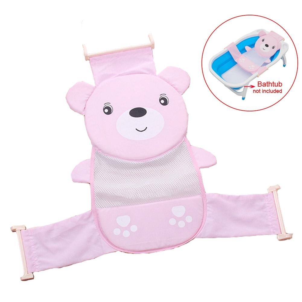 baby bath seat net support sling shower mesh bathing. Black Bedroom Furniture Sets. Home Design Ideas