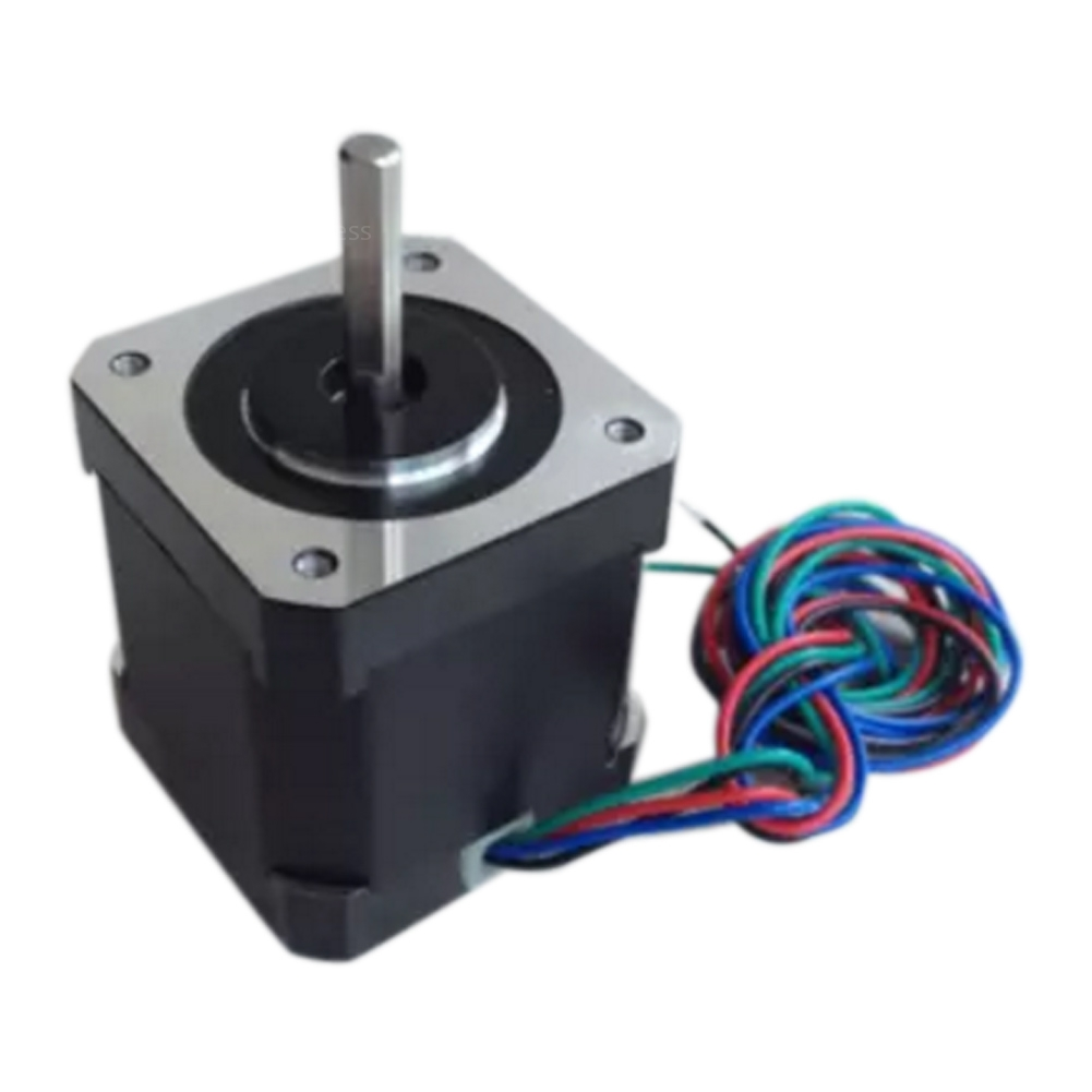 1 7a two phase 4 wire 17 step 42mm high torque hybrid for Stepper motor step size