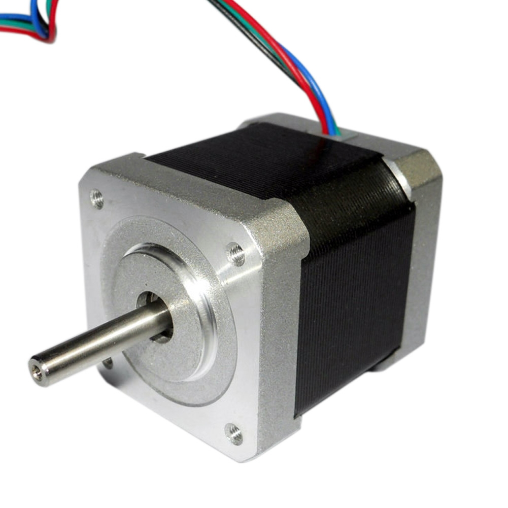 42mm 1 8 Degree Nema17 2 Phase 4 Wire Stepper Motor For 3d