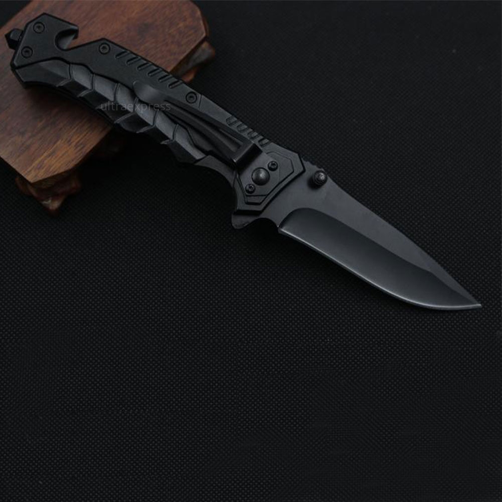 Multi-function Tactical Folding Blade Survival Pocket