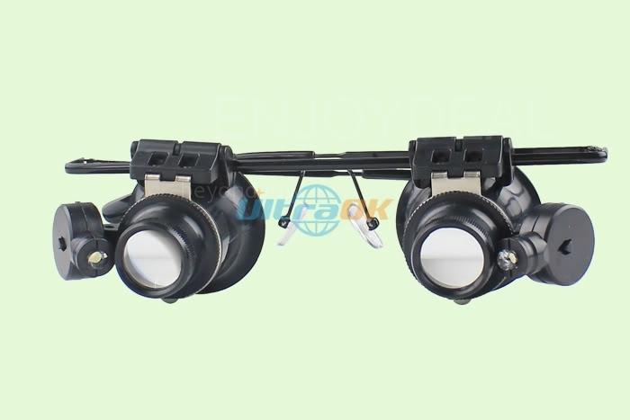20 X Fernglas Auge Lupe Lupe Glas Lupen Led Beleuchtet31