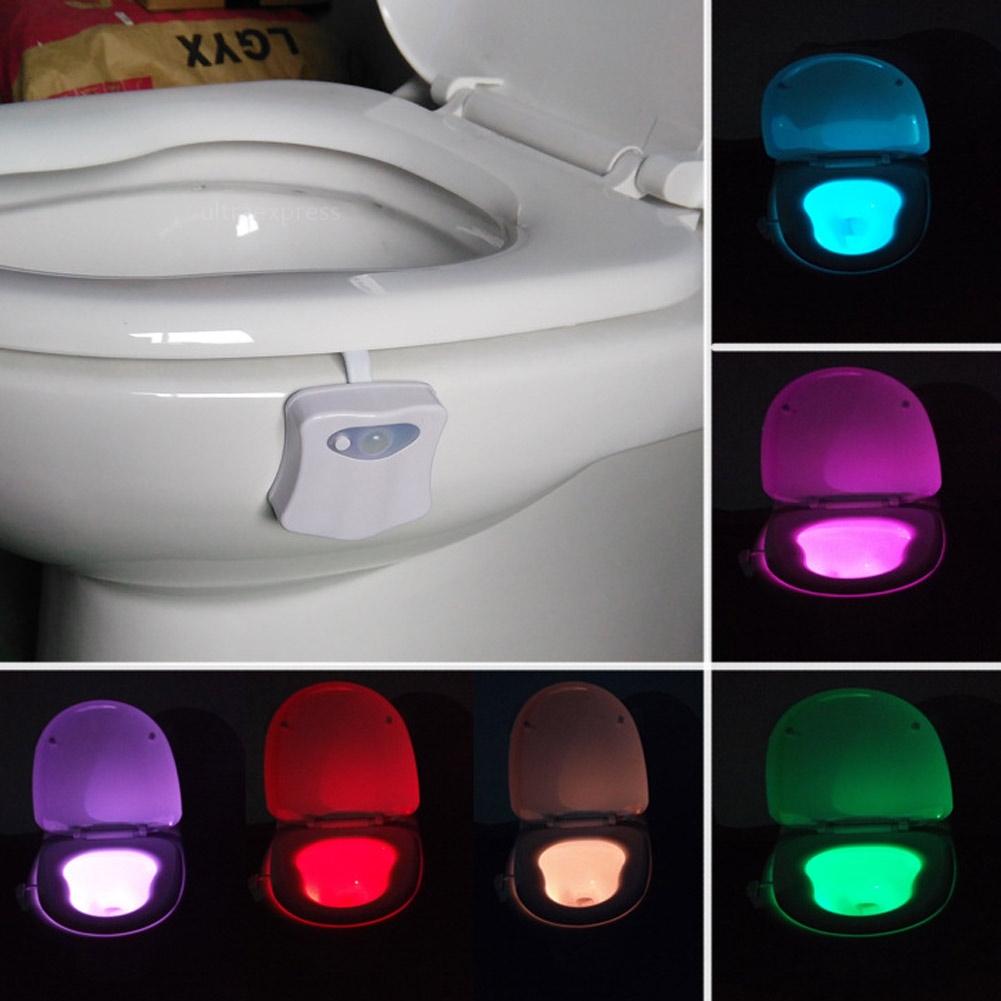 Night light with motion sensor - Image Is Loading 8 Color Led Night Light Body Motion Sensor