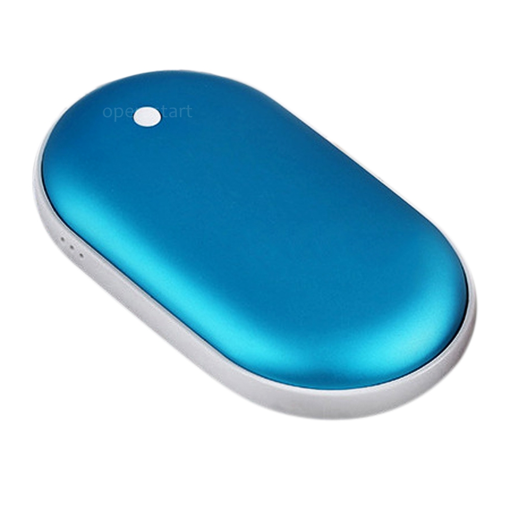 2in1 Cobblestone Usb Charger Pocket Electric Hand Warmer