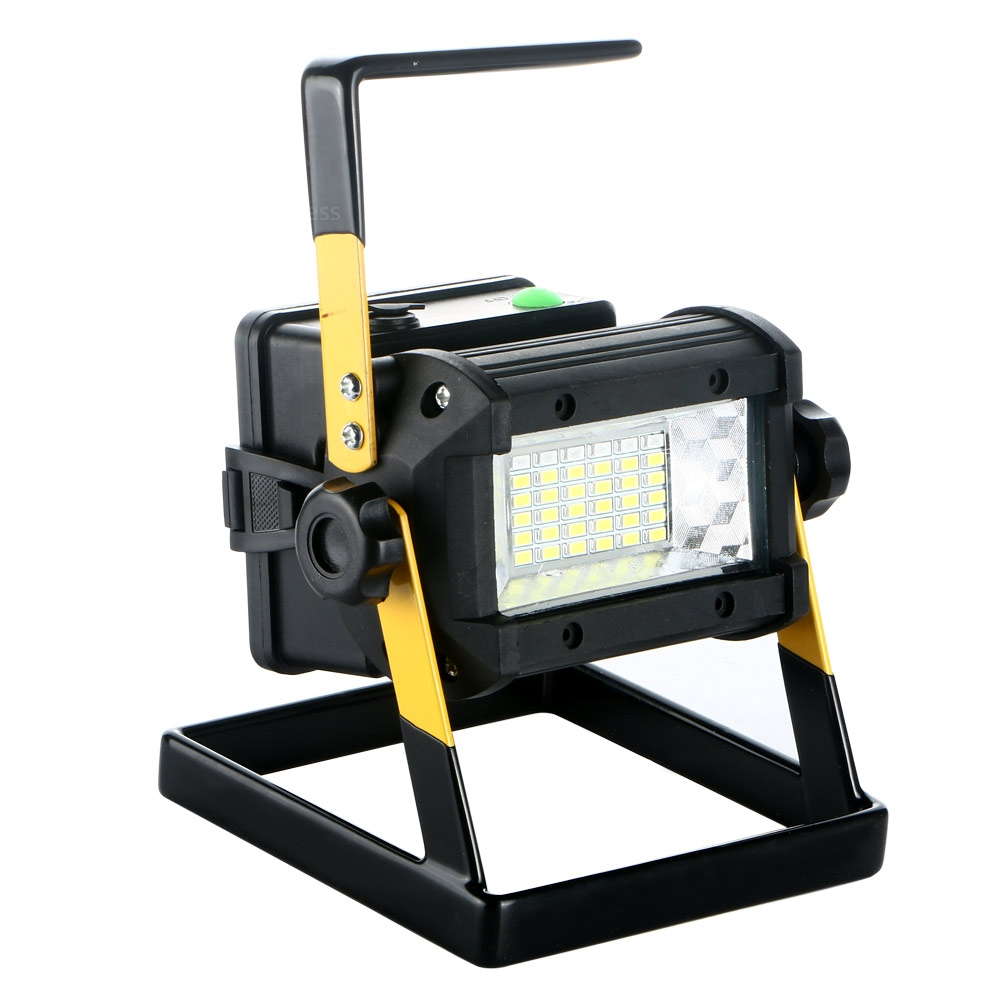 Outdoor Flood Light Does Not Work: 50W 36LED Portable Rechargeable Work Spot Light Camping