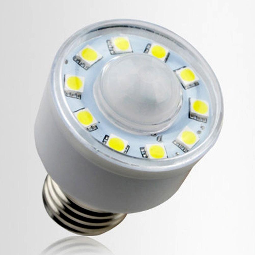 110V Human Body MotionSensor PIR Infrared LED Lamp