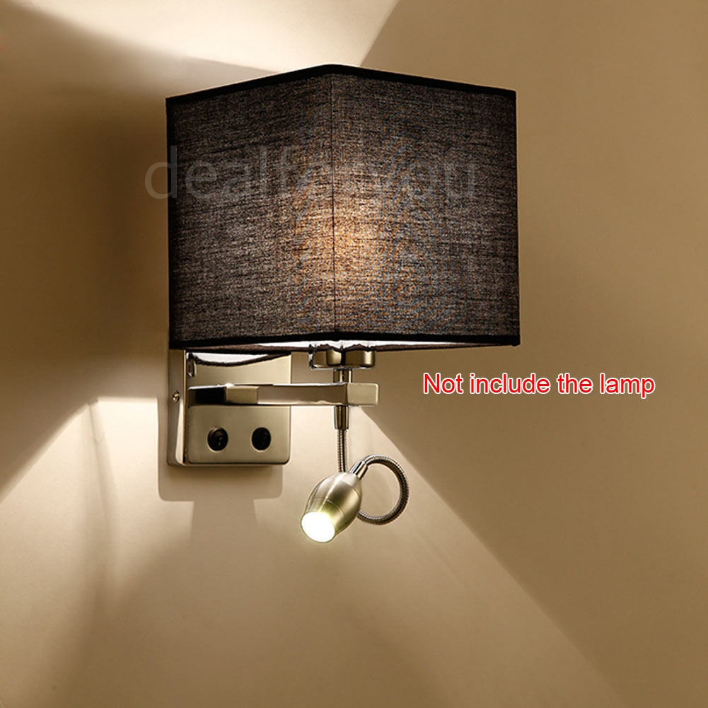 Wall Sconces For Hallway: Modern LED Cloth Wall Lamp Wall Sconce Light Hallway